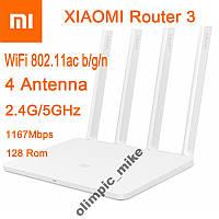 Новые роутеры Xiaomi Mi WiFi Router 3 1167Mbps