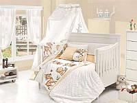 Постельное белье с набором для новорожденных First Choice Happy Baby Honey бамбук