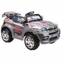 Детский Электромобиль Festa Джип BMW серии X серебристый на радиоуправлении
