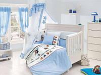 Постельное белье с набором для новорожденных First Choice Happy Baby Captain бамбук