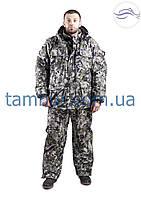 Зимний костюм для рыбалки пиксель зелёный (элитный), фото 1