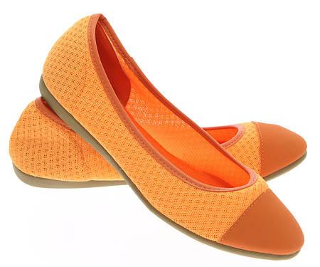 Женские балетки Palmdale orange