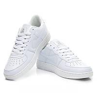 Женские белые легендарные кроссовки копия Nike Air Force 1 Low
