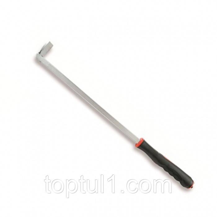 Монтировка с резиновой ручкой   TOPTUL JCCC2025  (угол 90°) 640 мм