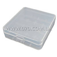 Коробочка для аккумуляторов, защитная Soshine SBC-017 (4x18650 / 8xCR123A) (11-1041)