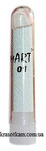 Бульонки mART 01 белые мелкие
