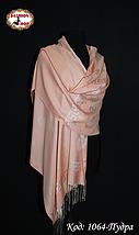 Стильный  шарф цвета пудры Изыск, фото 2