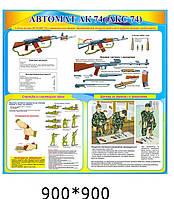 """Стенд """"Автомат АК-74"""""""