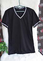 Мужская черная футболка., фото 1