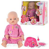 Пупс кукла Baby Born Бейби Борн BB 8001-4 (Лето)Маленькая Ляля новорожденный с аксессуарами