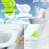 Полезное приспособление для гигиены Вашего туалета (крепится на крышку)