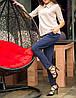 """Элегантная женская блузка """"Бежевая Клементина"""" с воротничком, фото 2"""