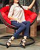 """Элегантная женская блузка """"Бежевая Клементина"""" с воротничком, фото 5"""