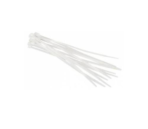 Стяжка пластикова для кабелю 3х80, біла