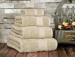 Качественное махровое полотенце 70х130 см Irya Karya Beige