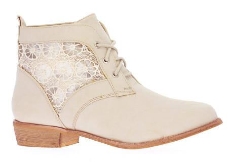 Женские ботинки MARYANN BEIGE