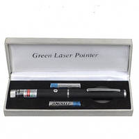 Зеленая лазерная указка BOB Laser BGP-3010-1 (532nm, 100mW, 2xAAA) + калейдоскоп (20-1041)