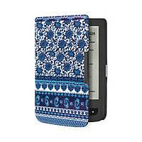 Обложка чехол для PocketBook 615/614 Basic 2/624 Basic Touch/625/640 Aqua/626 Touch Lux 2/Lux 3 Турецкие огурцы