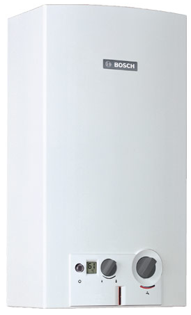 BOSCH Therm 6000 WRD 10-2 GTherm 6000 O до 10л./мин. / розжиг от турбинки. Модуляция мощности, адапт