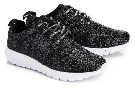 Женские кроссовки CLINT Black