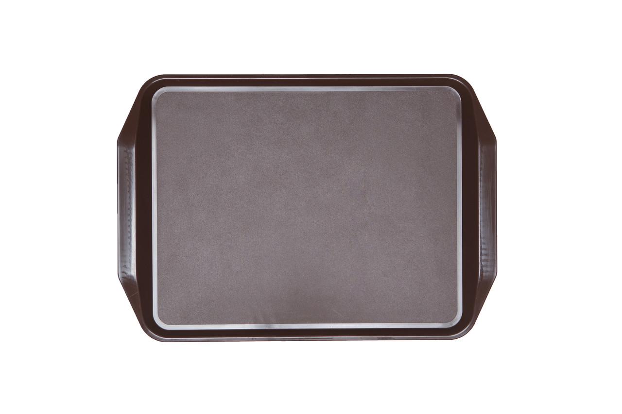 Поднос прямоугольный коричневый  43х31 см, Италия