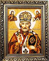 Икона Николай с ажурной рамой