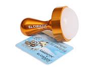 EL Corazon Большой штамп односторонний и скрапер №7