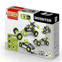 Конструктор серии INVENTOR 4 в 1 - Автомобили