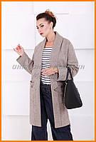 Женское пальто накидка | Демисезонное легкое пальто