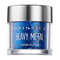 Рассыпчатые тени для век Urban Decay Heavy Metal Loose Glitter Reverb синий электрик
