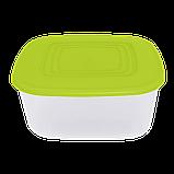 Алеана Харчової контейнер квадратний 3 л, фото 3