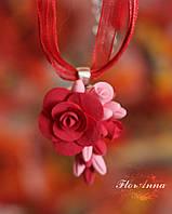 """""""Танго"""" авторский кулон с розами , фото 1"""