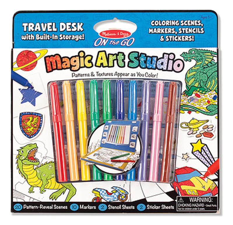 """Волшебный набор для мальчиков """"Раскраска, наклейка ..."""