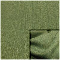 Ткань плательно-костюмная зелёный меланж