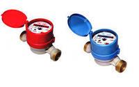 Водосчетчик холодной воды Новатор ЛК-20 х: крыльчатый, расход 0,03-5 м³/ч, погрешность ±5%, 550 г