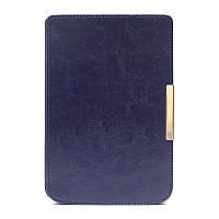 Обложка чехол для PocketBook 615/614 Basic 2/624 Basic Touch/625 Touch 2/640 Aqua/626 Touch Lux 2/Lux 3 темно-синий