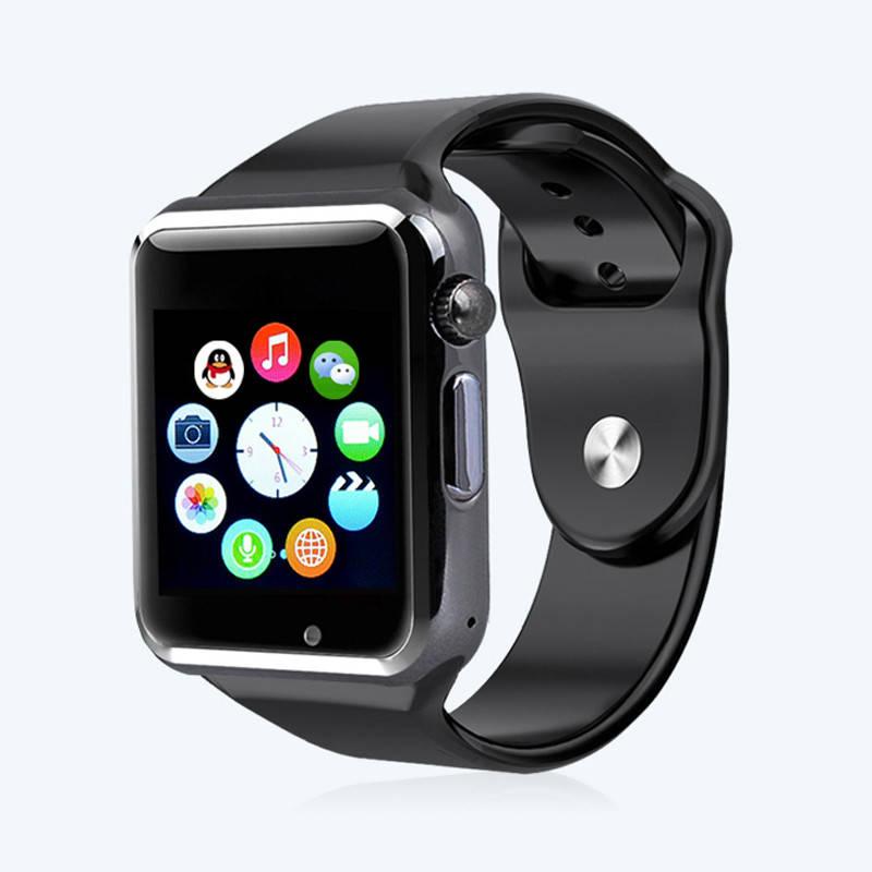 Топ продаж Умные часы Smart Watch A1 Black 1aabdac734df7