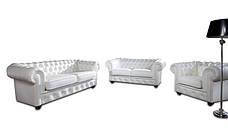 """Стильні меблі для вітальні """"CHESTERFIELD"""" (3+1), фото 2"""