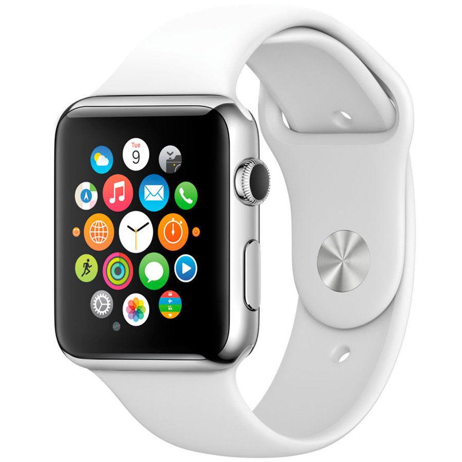 Apple watch series 4: алюминиевый корпус (40 мм и 44 мм), высотомер, gps.