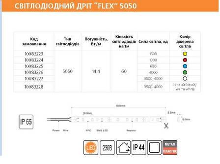 Светящийся провод DELUX FLEX 5050, фото 2