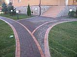 Благоустройство вокруг дома, Плиткой и Камнем, фото 2