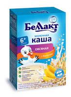 КАша молочная Беллакт овсяная с бананом, 6+ месяцев 200 г