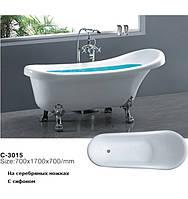 Акриловая ванна Atlantis C-3015 170x70