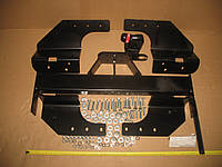 Фаркоп ISUZU D-Max 07 - Пикап (только 4x4) Бампер со ступенькой Bosal 045-272