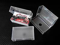 Коробочка, пластиковый футляр для визиток, фото 1
