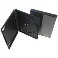 DVD box 7mm черный, глянцевый