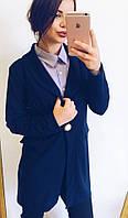 Женский стильный удлиненный пиджак, фото 1