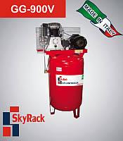 Компрессор поршневой ременной с вертикальным рессивером 270л 380В GG 900V Skyrack