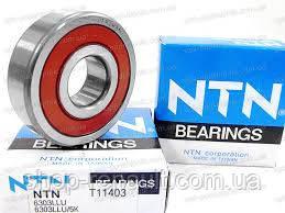 Подшипник генератора передний (большой) NTN-SNR, 6303LLU/5K (17X47X14)