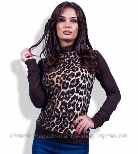 Кофточка женская леопард